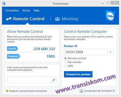 Cara Remote Desktop Menggunakan Teamviewer