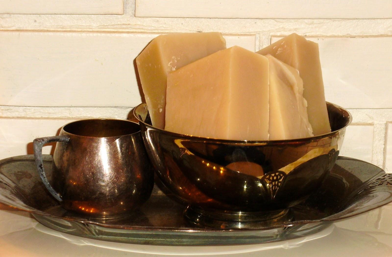 Mousturizing facial soap recipe