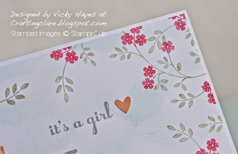 Something for Baby and Hopeful Thoughts by Stampin' Up available to buy online UK