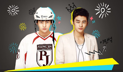 Sinopsis Drama King High School Conduct Life Episode 1-Tamat