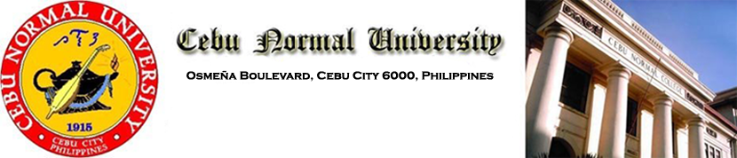 Welcome to Cebu Normal University