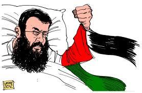 Free Khader Adnans- palestinian prisioner