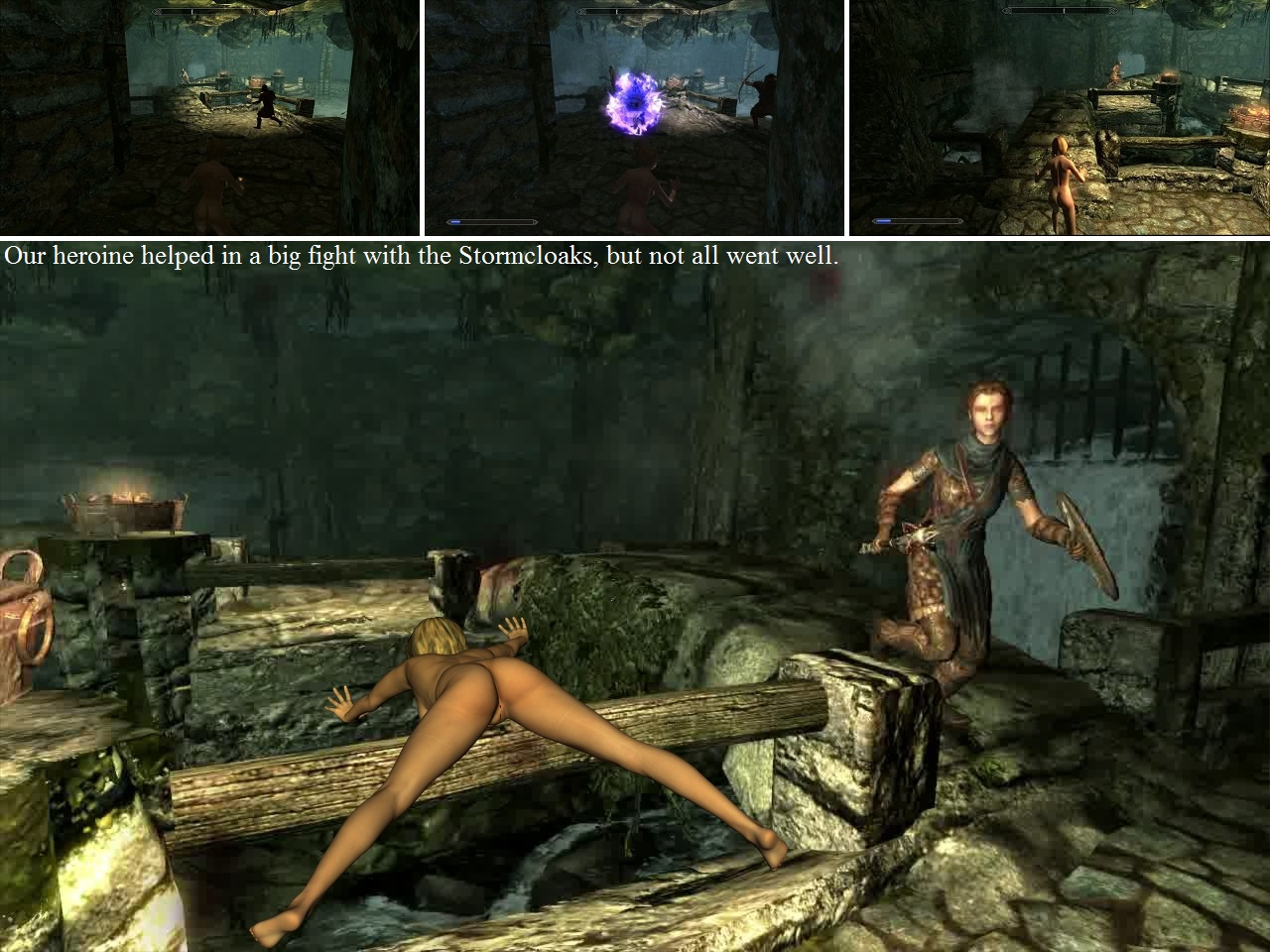 Skyrim nude femals exposed sluts