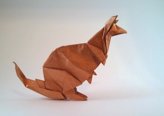 Projects Art And Craft Easy Origami Kangaroo For Kids