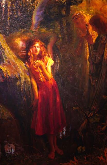 joan of arc,symbolism art,art nouveau