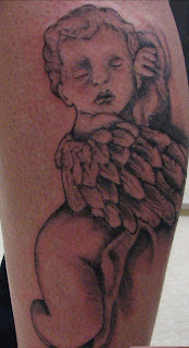 Baby Angle Tattoo Designs