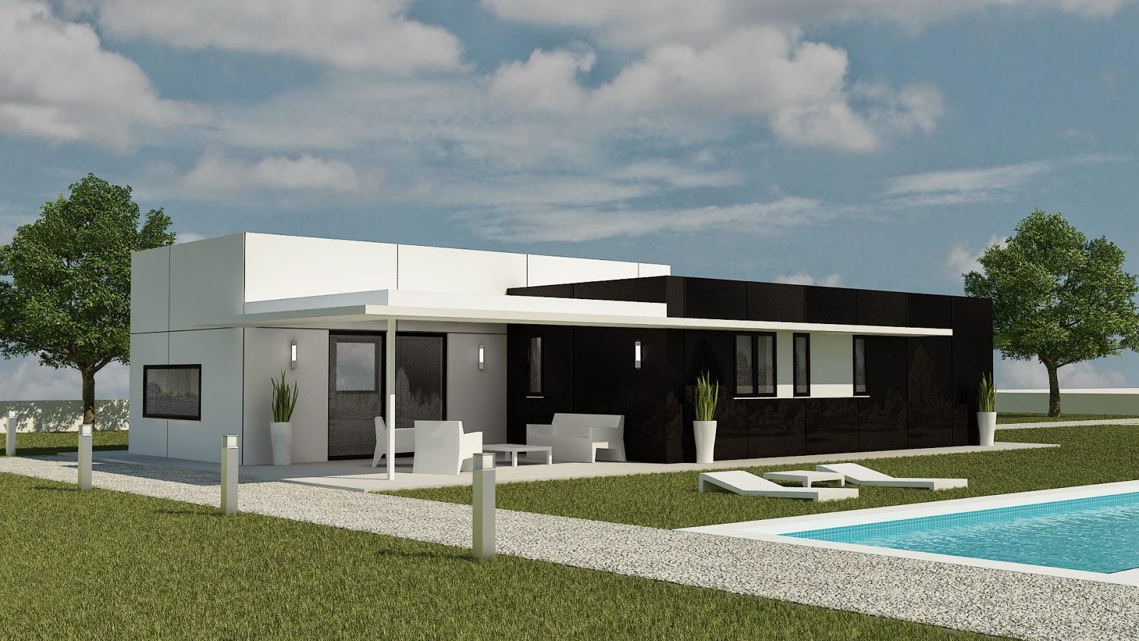 Porches un detalle innovador en nuestras construcciones - Viviendas modulares diseno ...