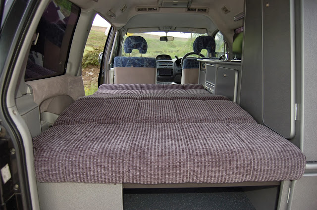 Hiace Hobo Living In A Toyota Camper Van Mitsubishi