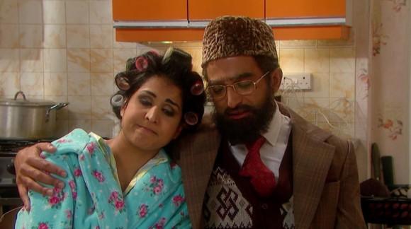 Citizen khan shazia and amjad wedding dress