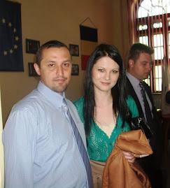 Împreună cu drd. Andreea Maria Pană (Universitatea din Bucureşti), 13.V.2011...