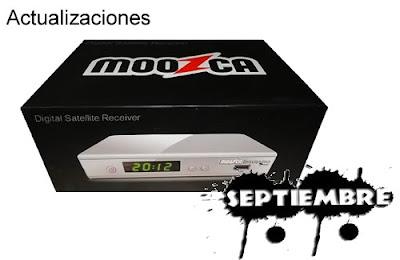 Actualización AZBOX MOOZCA BRAVISSIMO TWIN 2 Septiembre 2013