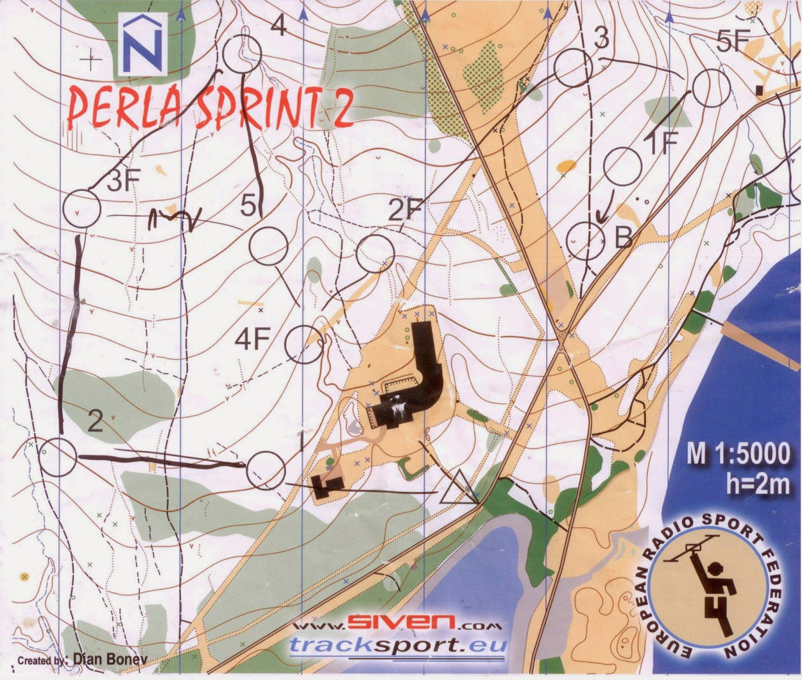 контрольная карта дистанции спринта по выбору