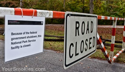 Government Closure of the Great Smoky Mountains National Park