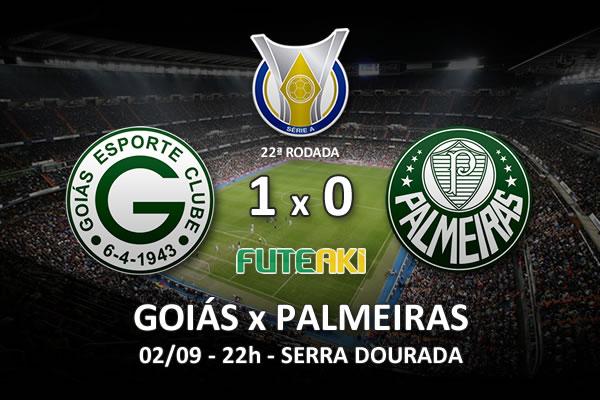 Veja o resumo da partida com o gol e os melhores momentos de Goiás 1x0 Palmeiras pela 22ª rodada do Brasileirão 2015.