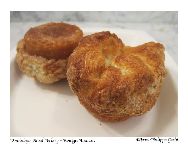 Image of Kouign Amman at Dominique Ansel Bakery in Soho, NYC, New York