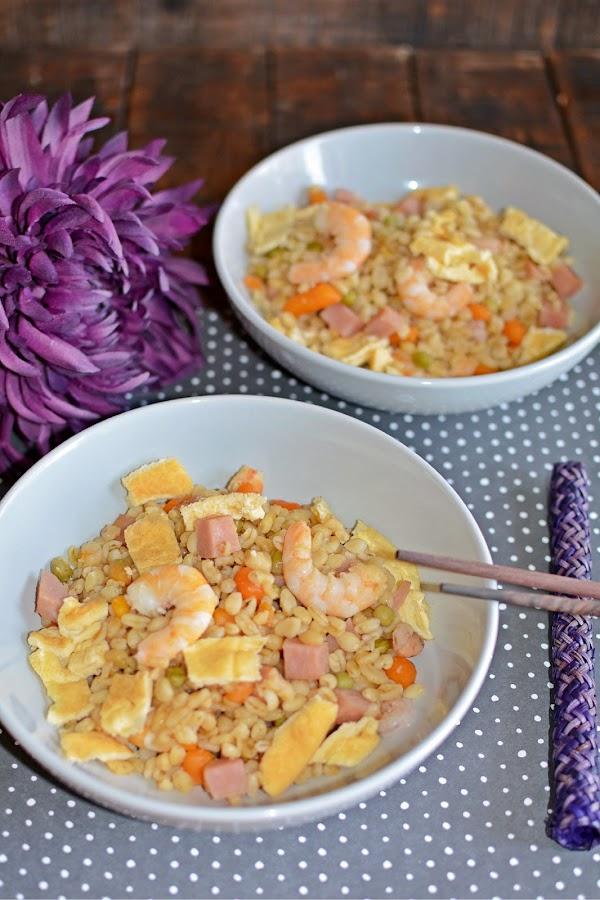 La cocina de vifran trigo tierno tres delicias for Cocinar trigo