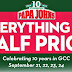 Food Alert! - 50% off at Papa John's Pizza; offers lasts today!