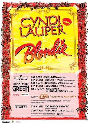 Cyndi Lauper & Blondie OzTour 2017