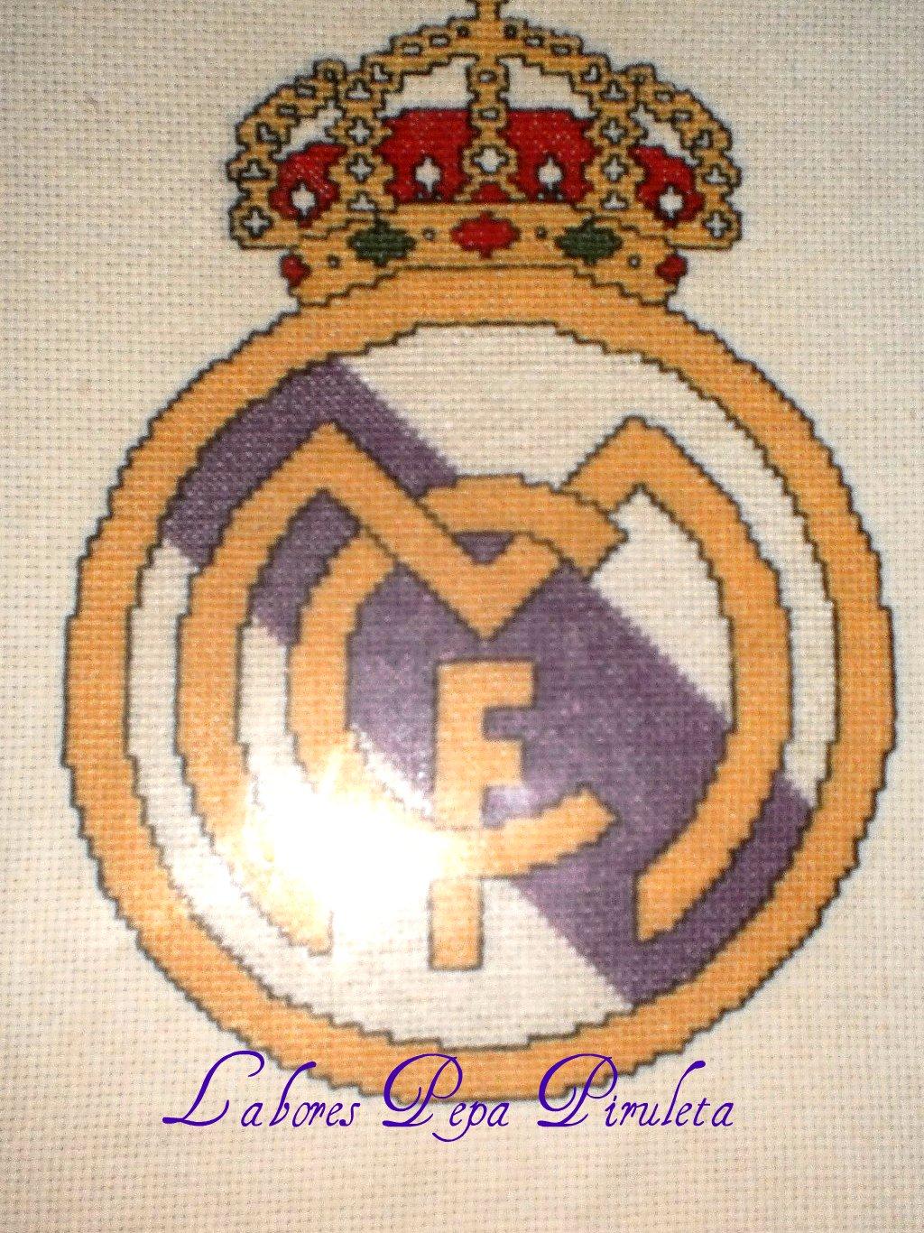 Labores Pepa Piruleta: Escudo del Real Madrid