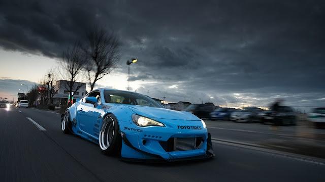 Toyota GT86 Scion Azul