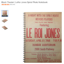 Black Theater | LeRoi Jones Spiral Photo Notebook