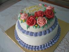 2 Tiers Steamed Buttercream Cake - Bermula dari RM150.00
