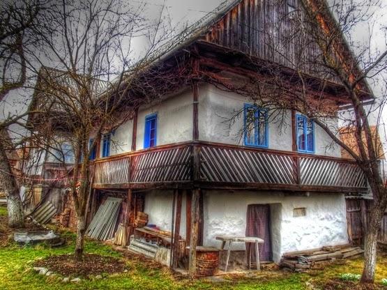 Székely tornácos ház