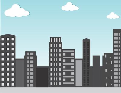 Skyline building vector illustrator