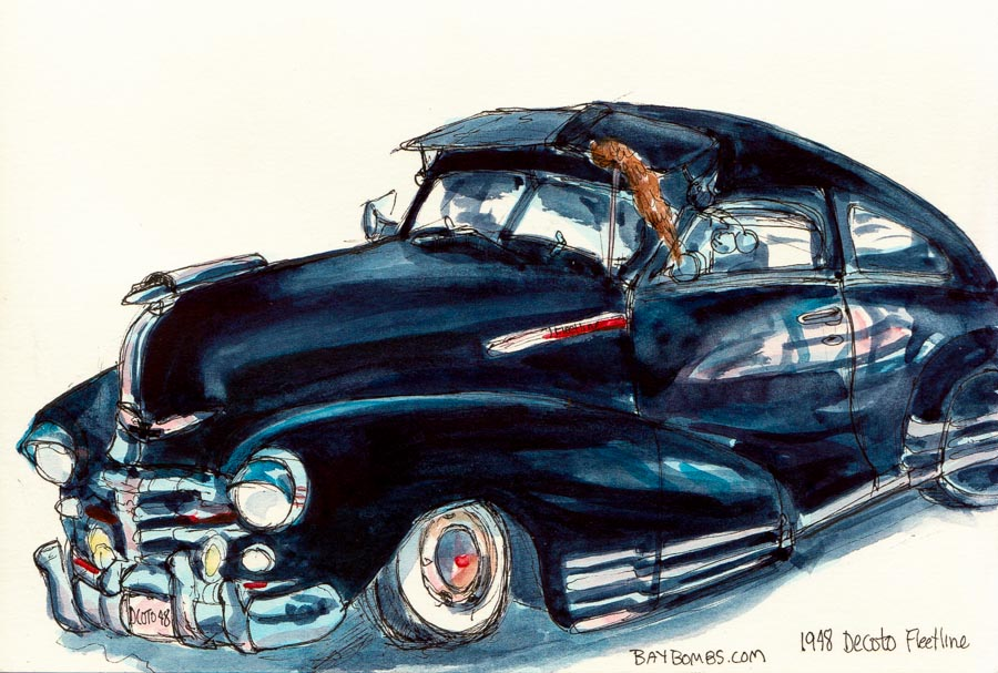 Urban Sketchers SF Bay Area Low Rider Car Show At Dia De Los Muertos - Car show sf bay area