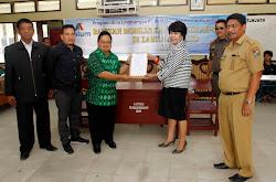 PT Inalum (Persero) Sumbang Mobiler di Sembilan Sekolah di Kabupaten Karo