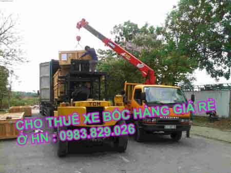 thuê xe vận chuyển hàng hóa các loại