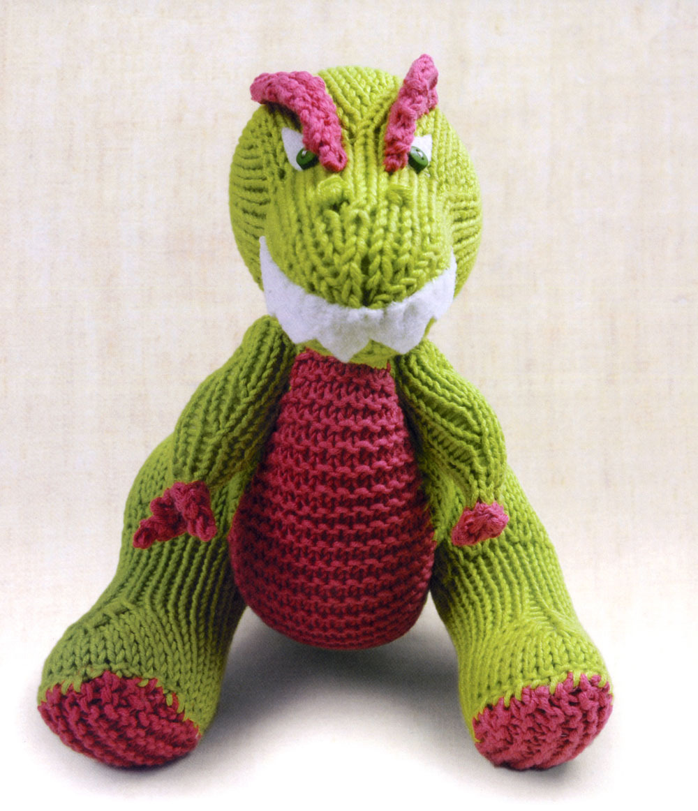 Free Dinosaur Knitting Pattern : In Review: Knitted Dinosaurs ~ An Accidental Knitter