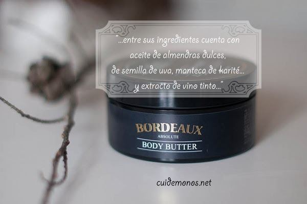 Bordeaux Absolute Body Butter