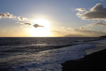 Contigo todo es sol, playa y arena