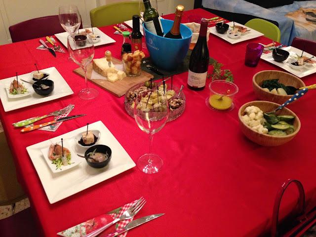 senza bimby, cena tra amici!!!