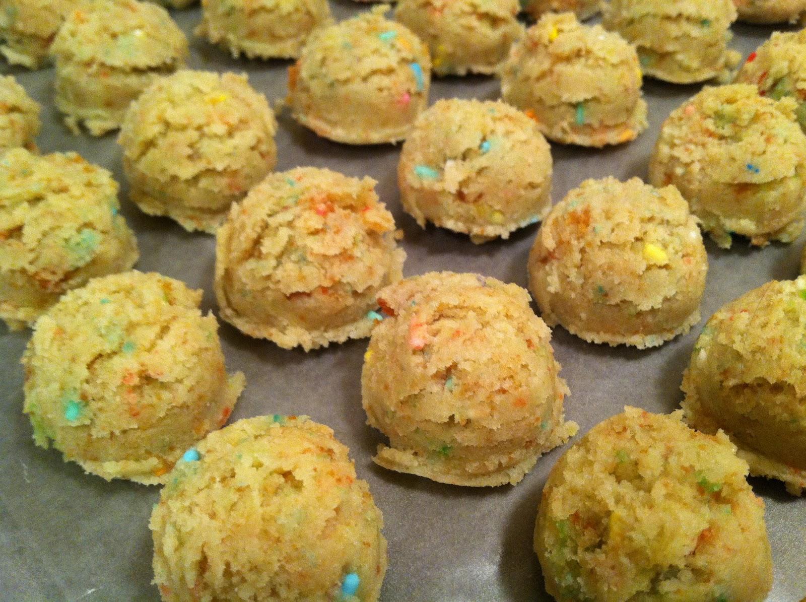 Vanilla Funfetti Cake Balls