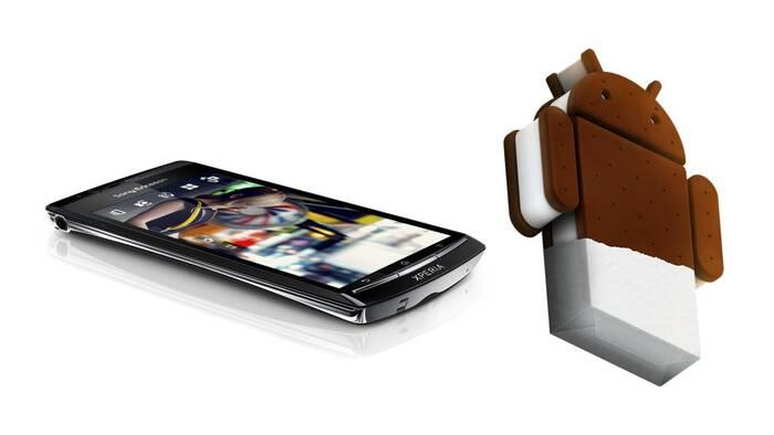 Sony обновит свои устройства до Android 4.0.4