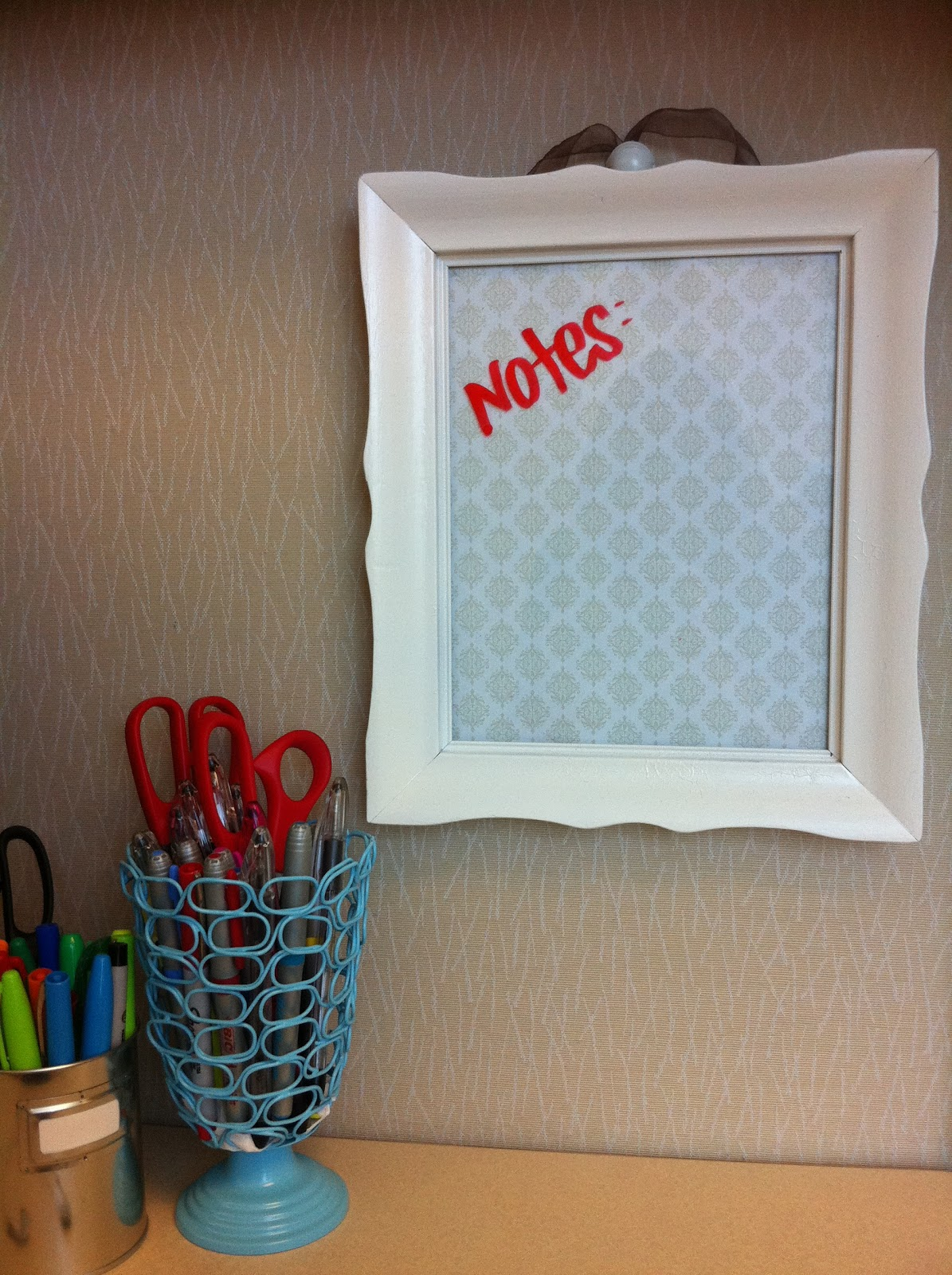 cubicle decorating