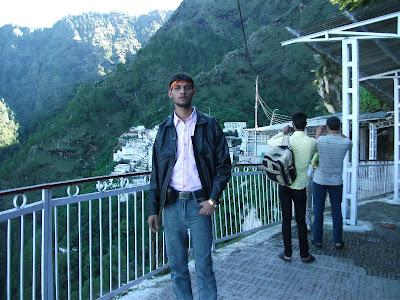 Anshu Dikshant at Vaishno Devi, Jammu