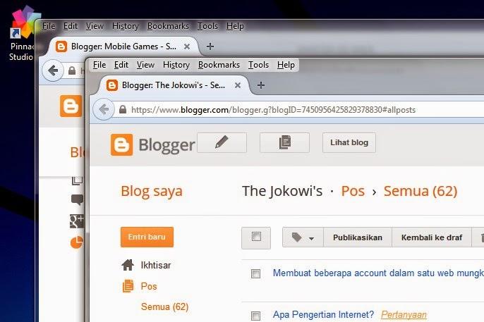 membuka atau mengakses dua account dalam 1 browser di mozilla firefox