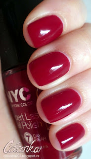 New York Color - odstín Fine Red Wine