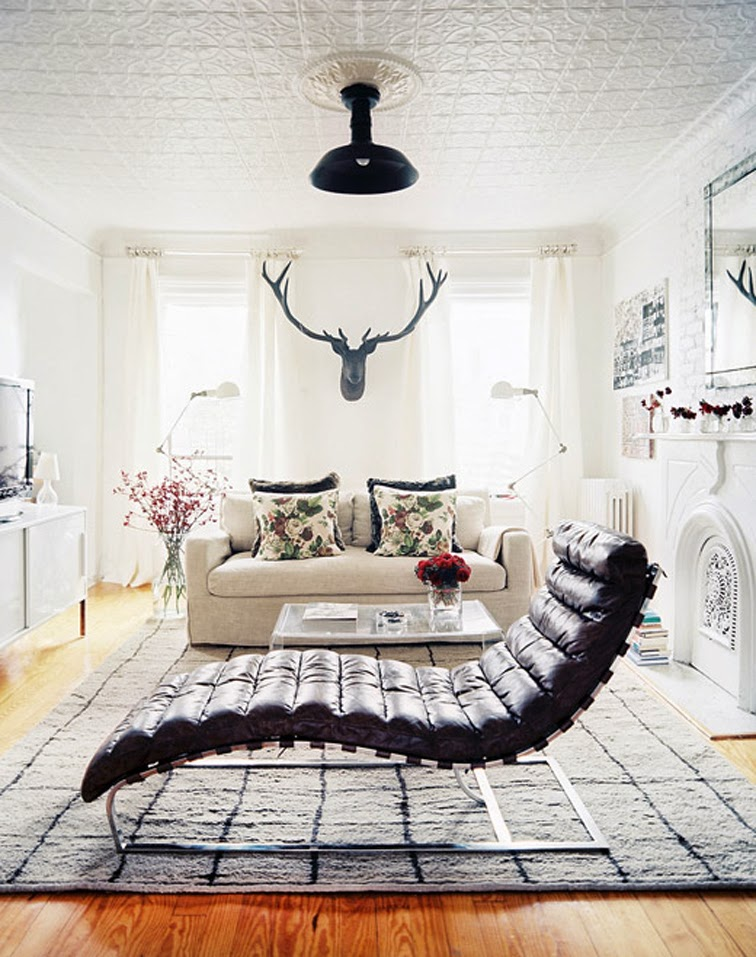 Home decor white living room