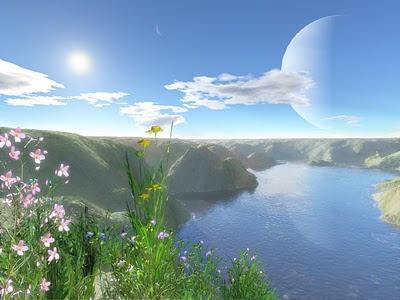 Pemandangan Surga