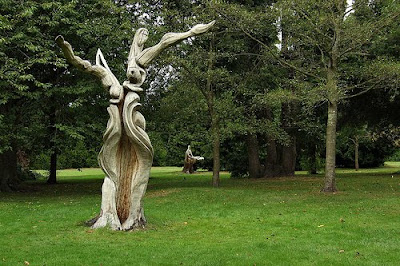 abstract carving bute park
