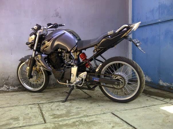Modif Yamaha Byson Jari Jari