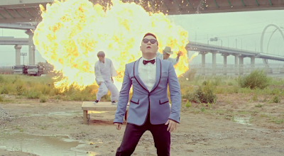 Psy Gangnam Style highway underpass explosion