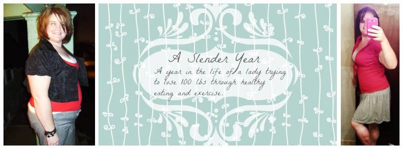 A Slender Year -weight loss journey
