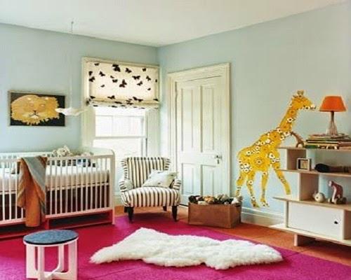 La decoration girafe bébé