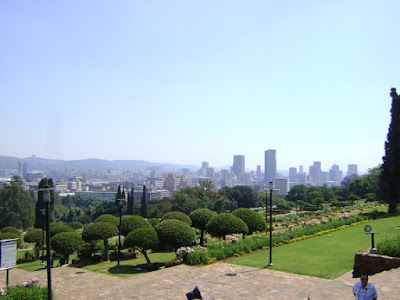Panorama miasta Pretorii widziana z Union Buildings