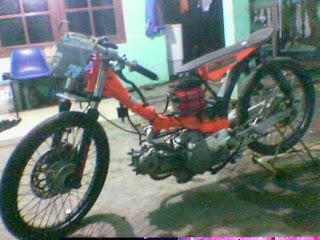 MOTOR DRAG | foto gambar motor modifikasi drag | Modifikasi Motor
